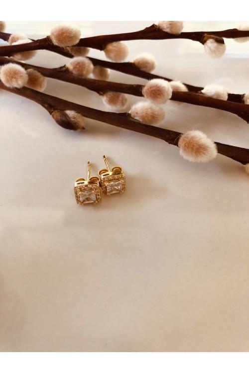 Χρυσο κολιέ PAGERI με δισκούς χάραξης